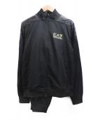 EMPORIO ARMANI EA7(エンポリオ アルマーニ イーエーセブン)の古着「セットアップ」|ブラック