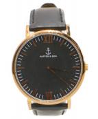 kapten & son(キャンプテンアンドサン)の古着「腕時計」