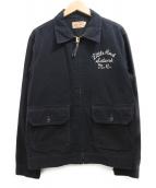 WHITESVILLE(ホワイツビル)の古着「スイングトップ」|ブラック