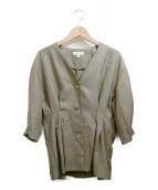 BEAUTY&YOUTH(ビューティーアンドユース)の古着「ブラウス」|オリーブ