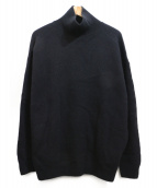 AURALEE(オーラリー)の古着「BABY CASHMERE KNIT」|ブラック