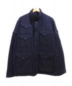 Engineered Garments(エンジニアードガーメンツ)の古着「ミリタリージャケット」|ネイビー
