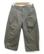 Engineered Garments(エンジニアードガーメン)の古着「クロップドパンツ」|カーキ
