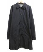 MAX MARA WEEK END LINE(マックスマーラ ウイークエンドライン)の古着「ナイロントレンチコート」|ブラック×ホワイト