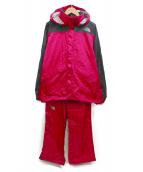 THE NORTH FACE(ザノースフェイス)の古着「ハイベントレインテックス」|ピンク×ブラック