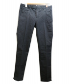 PT01(ピーティーゼロウーノ)の古着「センタープレスパンツ」|ブラック