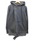 STEPHAN SCHNEIDER(ステファン・シュナイダ)の古着「フーデッドジャケット」|グレー