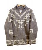 CORONA(コロナ)の古着「カウチンニットカーディガン」|グレー