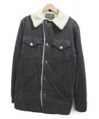 Wrangler(ラングラ)の古着「ランチジャケット」|チャコールグレー