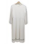 CELFORD(セルフォード)の古着「ニットワンピース」|ホワイト