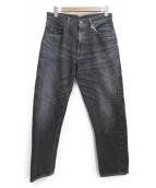 WAREHOUSE&CO.(ウエアハウス)の古着「デニムパンツ」|ブラック