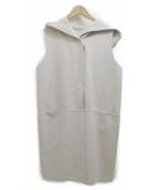 S Max Mara(エス マックスマーラ)の古着「フーデッドコート」|ベージュ