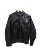 Schott(ショット)の古着「ライダースジャケット」 ブラック