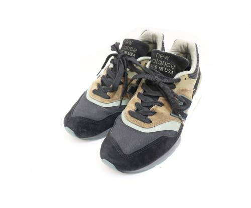 NEW BALANCE(ニュー・バランス)NEW BALANCE (ニュー・バランス) スニーカー ブラック×カーキ サイズ:27.5 997の古着・服飾アイテム