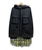 DISCOVERED(ディスカバード)の古着「フーデッドジャケット」|グレー