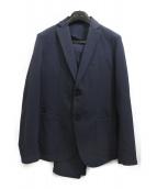 ROSSO(ロッソ)の古着「シアサッカージャケット」|ネイビー