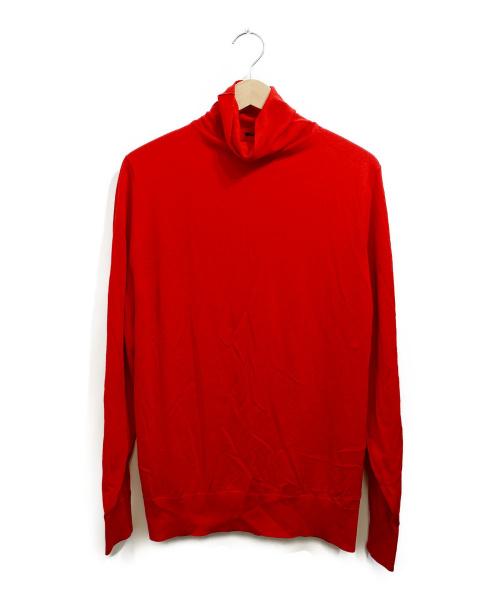 Cruciani(クルチアーニ)CRUCIANI (クルチアーニ) タートルネックニット レッド サイズ:46 並行品の古着・服飾アイテム