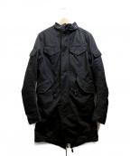 wjk(ダブルジェイケー)の古着「モッズコート」|ブラック