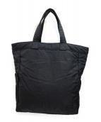 HEAD PORTER BLACK BEAUTY(ヘッドポーター ブラックビューティー)の古着「トートバッグ」|ブラック