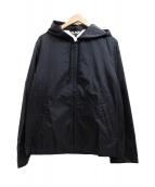 BLACK COMME des GARCONS(ブラックコムデギャルソン)の古着「ナイロンジャケット」|ブラック