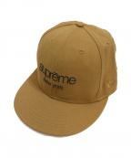 SUPREME×NEWERA(シュプリーム×ニューエラ)の古着「キャップ」|ブラウン