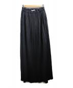 PLEATS PLEASE(プリーツプリーズ)の古着「プリーツスカート」 ブラック