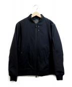 nano・universe(ナノユニバース)の古着「テックフライメルトンMA-1ジャケット」|ブラック