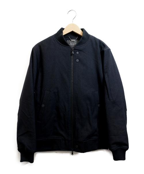 nano・universe(ナノユニバース)nano・universe (ナノユニバース) テックフライメルトンMA-1ジャケット ブラック サイズ:Sの古着・服飾アイテム