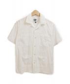 Engineered Garments(エンジニアードガーメンツ)の古着「オープンカラーシャツ」|ホワイト