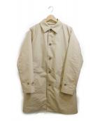 BEAMS(ビームス)の古着「ダウンライナー付きステンカラーコート」|ベージュ