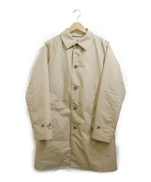 BEAMS(ビームス)BEAMS (ビームス) ダウンライナー付きステンカラーコート ベージュ サイズ:S 11-19-0382-214の古着・服飾アイテム