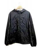 stussy(ステューシー)の古着「フーデッドジャケット」 ブラック