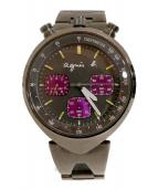 agnes b.(アニエスベー)の古着「腕時計」|グレー