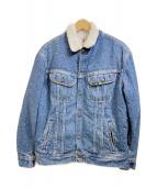 LEE(リー)の古着「【古着】80s ボアジャケット」 インディゴ
