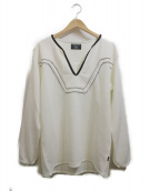 glamb(グラム)の古着「Reggie pullover SH」 ホワイト