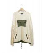 glamb(グラム)の古着「Jorja knit」 ベージュ