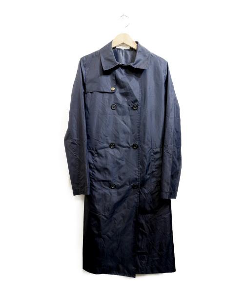 MACKINTOSH PHILOSOPHY(マッキントッシュフィロソフィー)MACKINTOSH PHILOSOPHY (マッキントッシュフィロソフィー) ナイロンコート ネイビー サイズ:36の古着・服飾アイテム