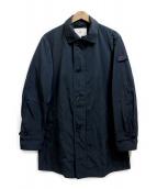 PEUTEREY(ビューテリー)の古着「ナイロンジップコート」|ネイビー