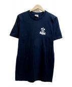 Supreme(シュプリーム)の古着「プリントTシャツ」 ネイビー