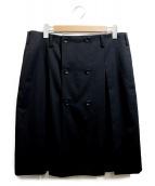 COMME des GARCONS HommePlus(コムデギャルソンオムプリュス)の古着「スカート」|ブラック