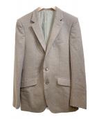 TAKEO KIKUCHI(タケオキクチ)の古着「3ピーススーツ」|ブラウン