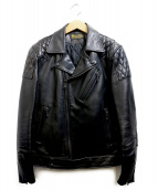 RUDE GALLERY BLACK REBEL(ルードギャラリーブラックレーベル)の古着「UKライダースジャケット」 ブラック