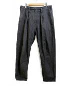 Porter Classic(ポータークラシック)の古着「コットンパンツ」|グレー