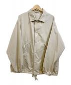 KAPTAIN SUNSHINE(キャプテン サンシャイン)の古着「コーチジャケット」|ベージュ