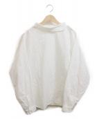 YAECA(ヤエカ)の古着「Roll Collar Blous」|ホワイト