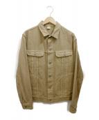 Ron Herman(ロンハーマン)の古着「トラッカージャケット」|ベージュ