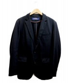 nano・universe(ナノユニバース)の古着「アンコンジャケット」 ブラック