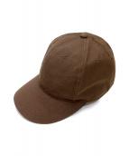 THE NORTHFACE PURPLELABEL(ザノースフェイスパープルレーベル)の古着「65/35 WINDSTOPPER Cap」 ブラウン