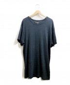 AMIRI(アミリ)の古着「ダメージ加工カットソー」|ブラック