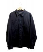 BEAMS(ビームス)の古着「テトロンレーヨン カバーオール」|ブラック